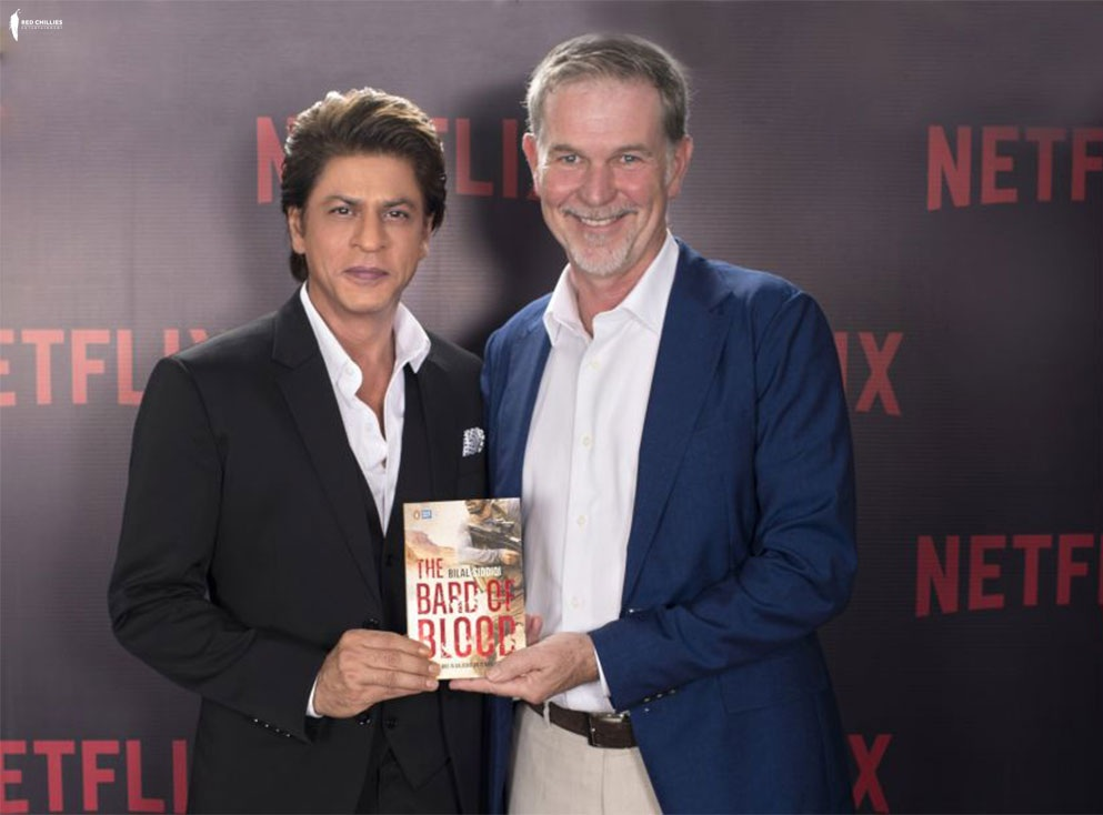 Netflix and Red Chillies Entertainment Announce  A New Original Series Based on 'Bard of Blood'