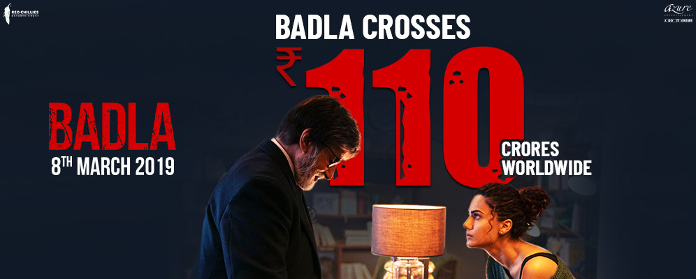 Badla box office collection: The crime thriller crosses the 100-crore mark