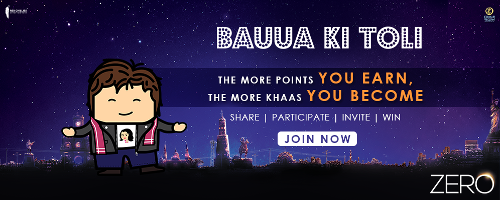 Bauua Ki Toli: The makers of Zero launch a fan engagement initiative
