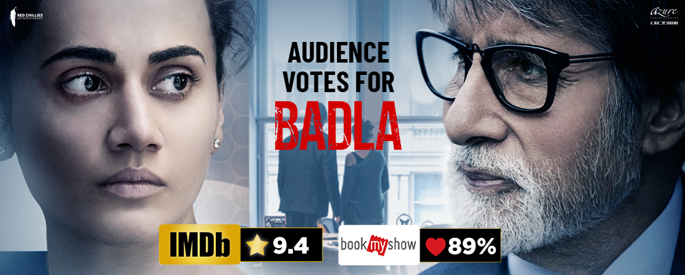 Badla brings back the crime thriller genre in Bollywood