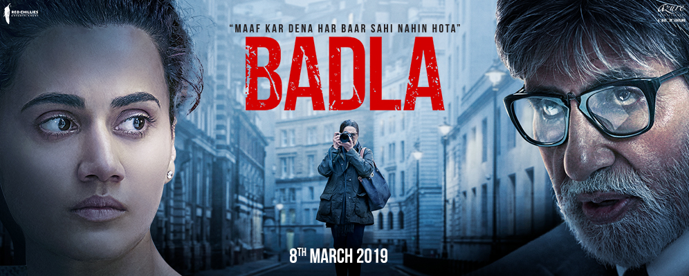 Badla Trailer: Amitabh Bachchan and Taapsee Pannu's thriller crime drama's trailer gets a thumbs-up